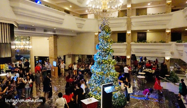 L'Fisher Hotel Bacolod helps - Welcome Home Foundation Inc - charity - CSR - Bacolod hotels - Bacolod City - Bacolod mommy blogger - children - deaf kids - hearing impaired - switch on - tree lighting ceremony - Victor Alcantara - Cong Greg Gasataya - Christmas note - Christmas ornament - lobby