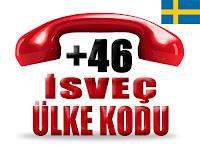 +46 İsveç ülke telefon kodu