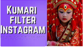 Kumari filter instagram | Cara dapatkan Filter Kumari instagram dengan mudah
