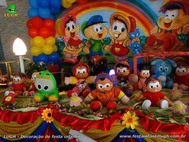 Decoração de aniversário Turma da Mônica - Festa infantil
