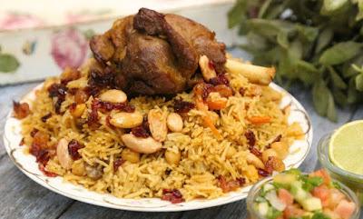 طريقة تحظير الأرز البخاري بالحم