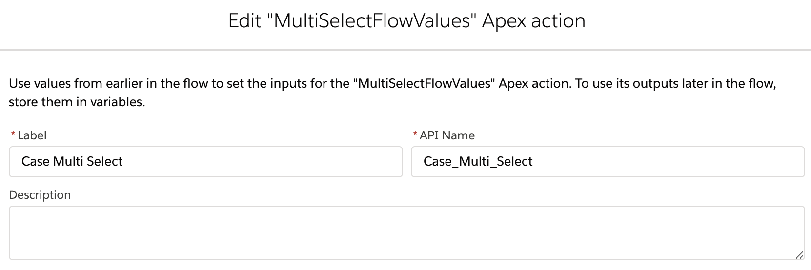 Multi Select Picklist Values in Flow Salesforce
