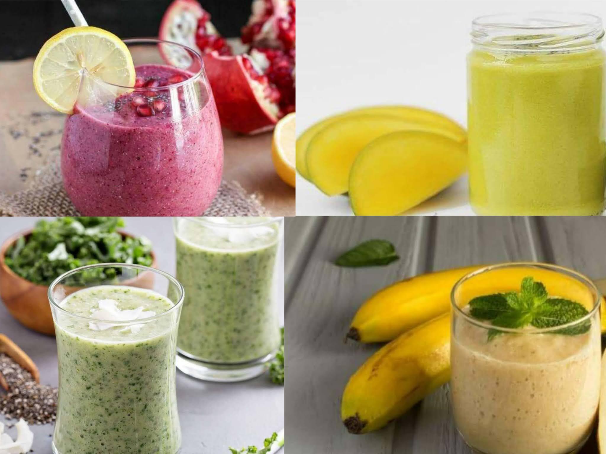 وصفات كوكتيل فواكه(سموثي) صحية ومغذية ومشبعة