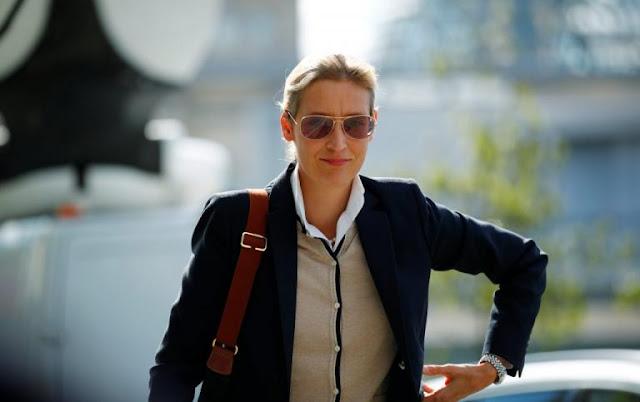 Είναι δηλωμένη ομοφυ-λόφιλη αλλά το κόμμα της είναι ομοφοβικό ! Alice Weidel: Νέα, ωραία, μορφωμένη και φιλοναζί η ηγέτης του AfD