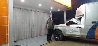 Cegah Pelaku Tindak Pencurian Dan Pengerusakan ATM Bhabinkamtibmas Polsek Alla Patroli Kontrol