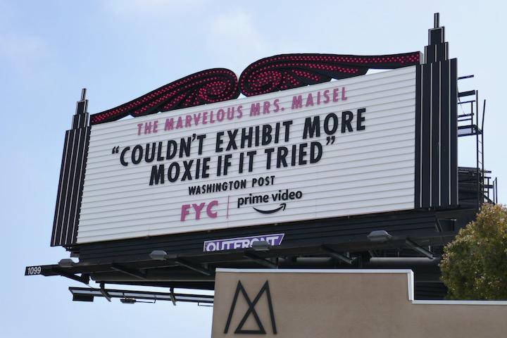 Mrs Maisel season 3 FYC marquee billboard
