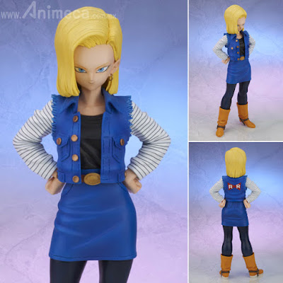 Figura Android 18 (Lazuli) Gigantic Series Dragon Ball Z