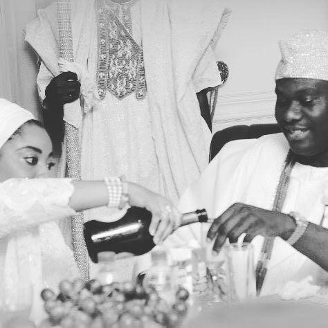 Olori Wuraola celebrates her birthday with husband, Ooni
