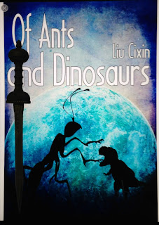 Portada del libro Of Ants and Dinosaurs, de Cixin Liu