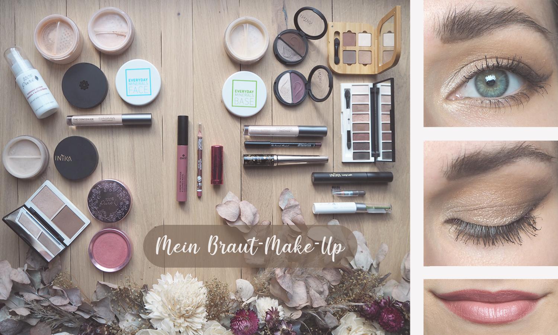 Braut-Make-Up mit Naturkosmetik