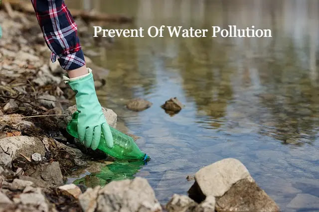 Prevent Of Water Pollution