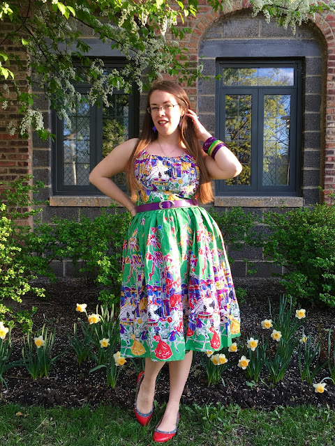 trashy diva carnival annette dress review