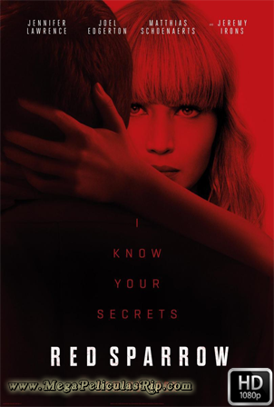 Red Sparrow 1080p Latino