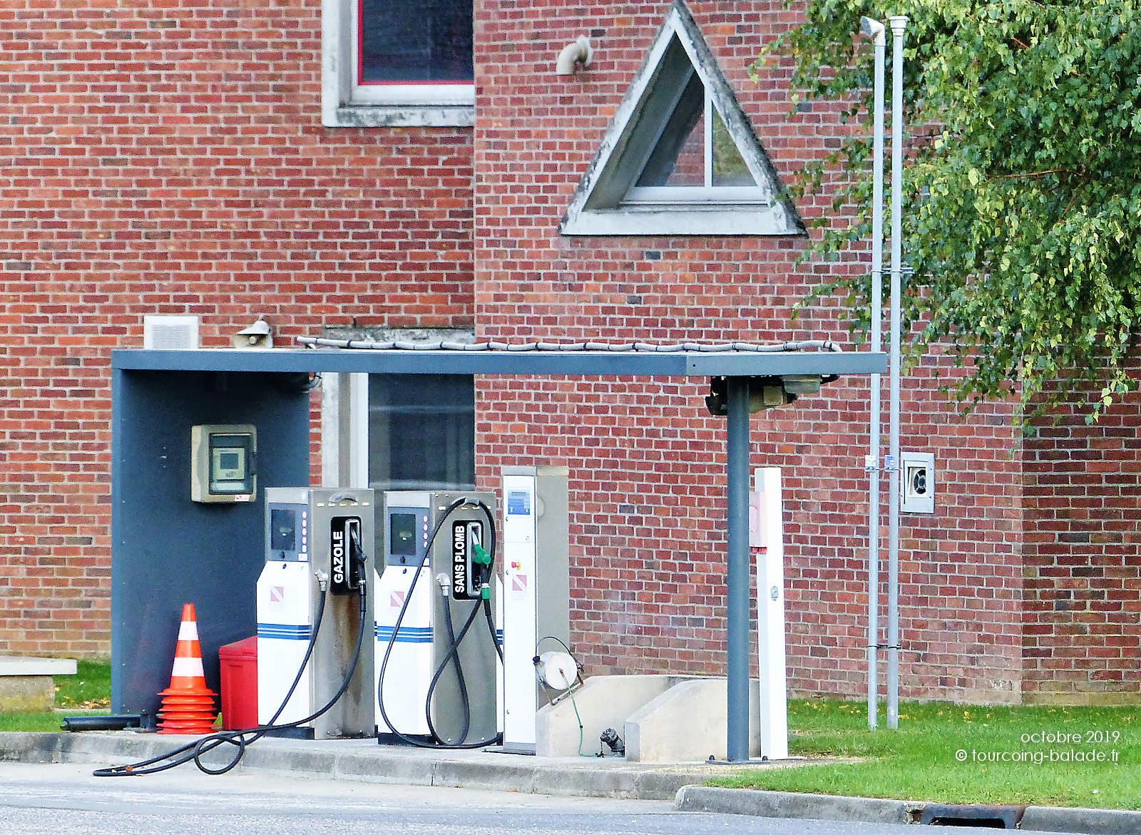 SDIS Tourcoing - Réserves Carburant de la Caserne
