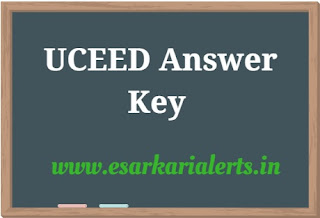UCEED Answer Key 2017