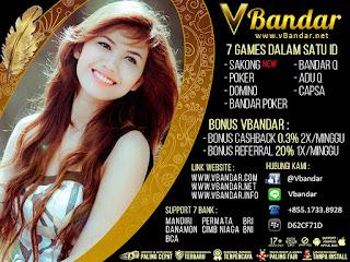 Bonus Cashback Judi BandarQ Online VBandars.info - www.Sakong2018.com
