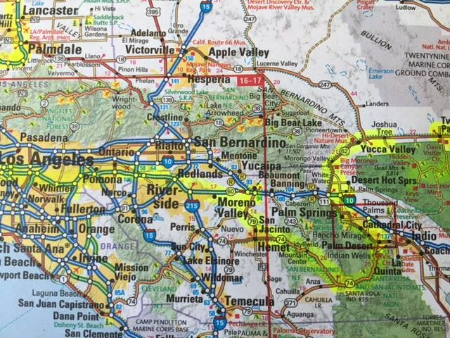 Lake Havasu City Az To Los Angeles