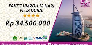 Paket Umroh 12 Hari Plus Dubai 2020