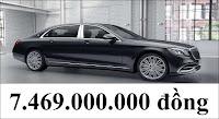 Giá xe Mercedes Maybach S450 4MATIC 2021