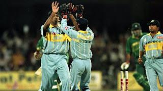 Navjot Singh Sidhu 93 - India vs Pakistan 2nd QF Wills World Cup 1996 Highlights