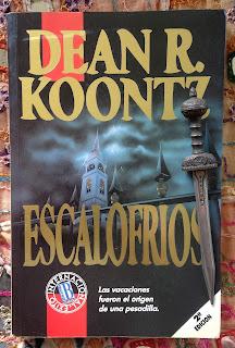 Portada del libro Escalofríos, de Dean R. Koontz