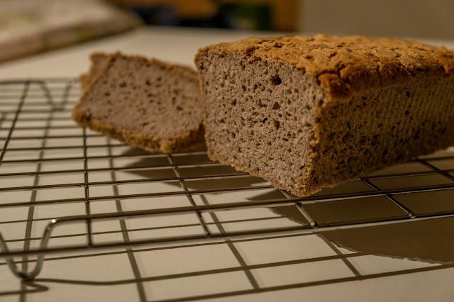 Pane senza glutine composto esclusivamente da farina di grano saraceno