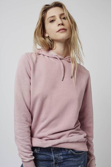 pink hoodie, topshop pink hoodie. soft pink hoodie,