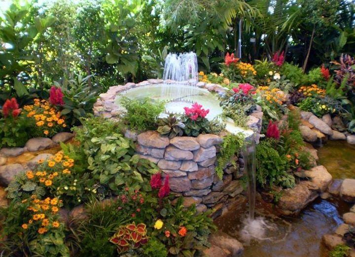 Συντριβάνια στον κήπο σας
