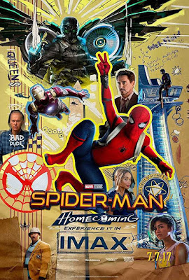 Poster Spider-Man: Homecoming 2017 Dual Audio HD 300MB