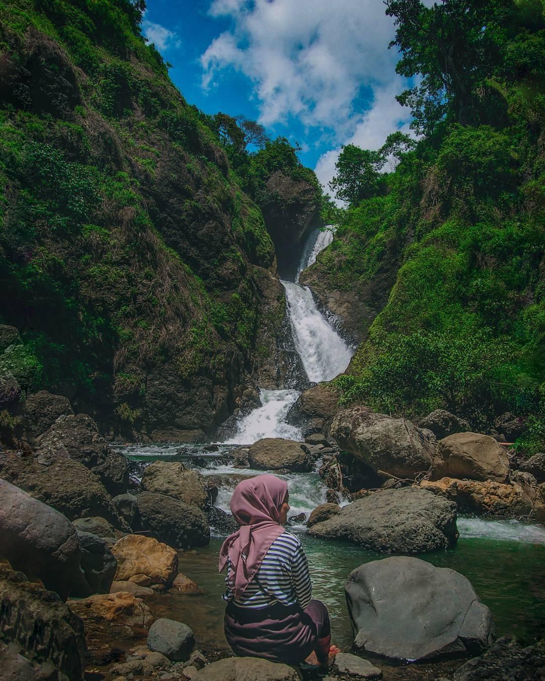 Curug Jagapati Garut Wisata Alam Tersembunyi Di Jawa Barat
