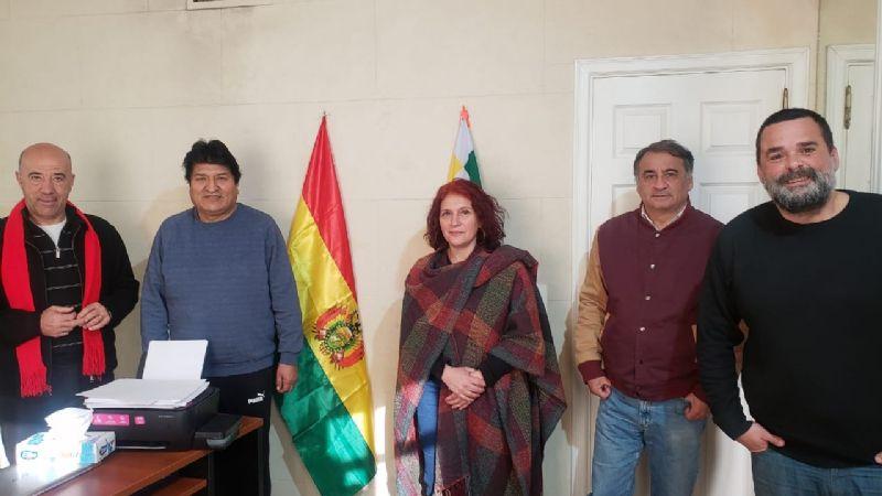 Morales recibe todo el apoyo, financiamiento y logística en Argentina por afines al presidente Alberto  Fernández / TWITTER