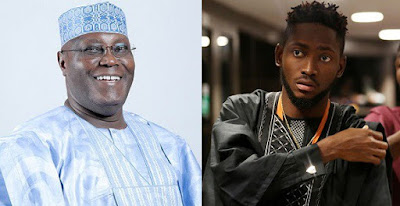 """Miracle is proof that Nigerian youths are hardworking, innovative and creative"" – Atiku Abubakar celebrates #BBNaija winner"