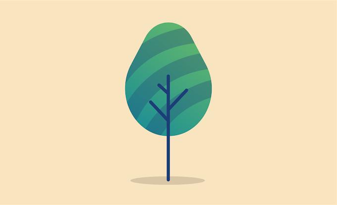 Tutorial Membuat Illustrasi Pohon Menggunakan Adobe Illustrator