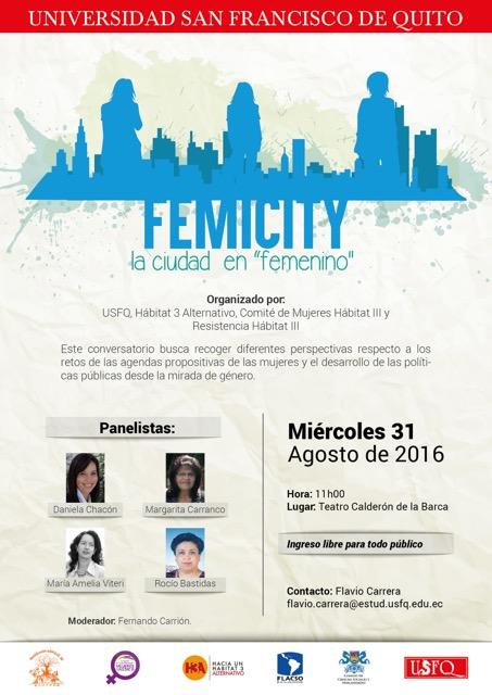 """Femicity - La ciudad en """"femenino"""""""