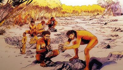 Prehistoria en América.