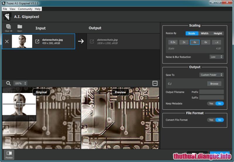 Download Topaz A.I. Gigapixel 4.1.0 Full Crack, phần mềm thay đổi kích thước và phóng to hình ảnh, cách phóng to ảnh không bị vỡ, Topaz A.I. Gigapixel, Topaz A.I. Gigapixel free download, Topaz A.I. Gigapixel full key