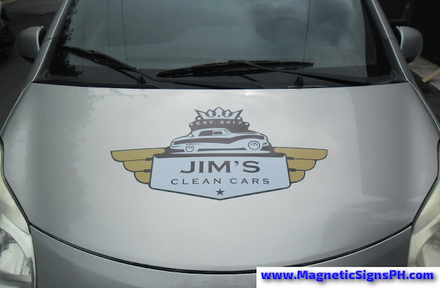 Car Magnet - Jim's Clean Cars