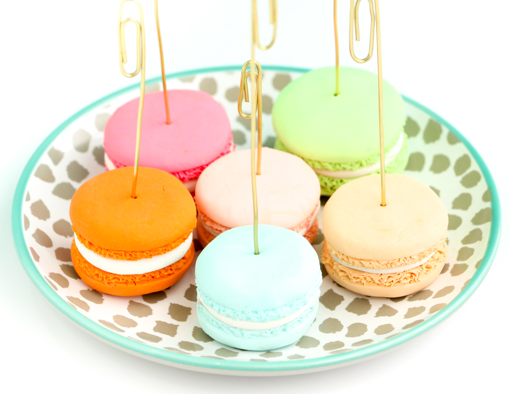 Craft It Faux Macaron Photo Holders A Kailo Chic Life
