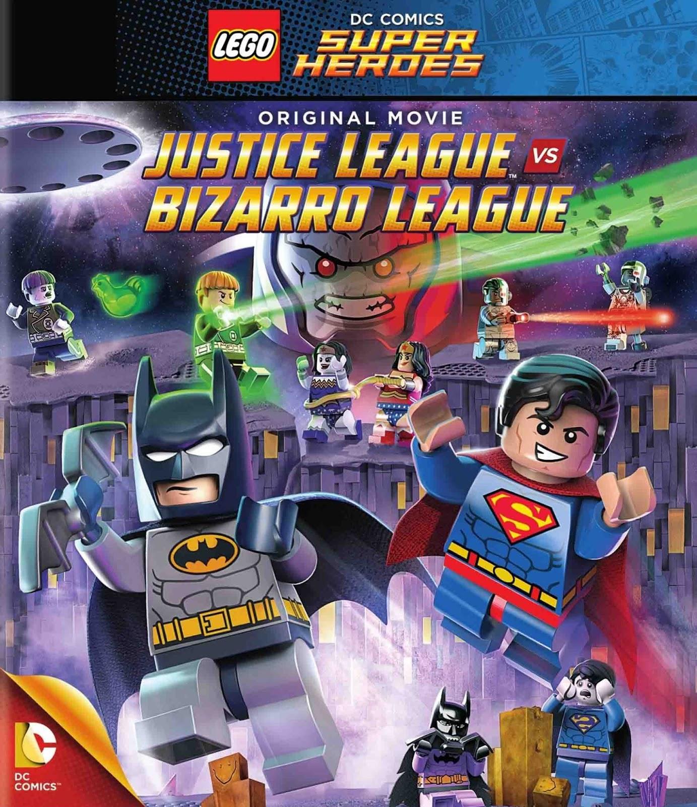 LEGO Super Heróis: Liga da Justiça vs. Liga Bizarra Torrent – Blu-ray Rip 720p e 1080p Dublado (2015)