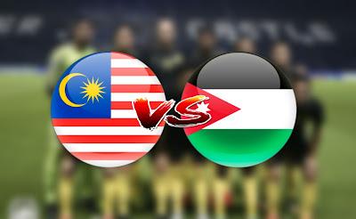 Live Streaming Malaysia vs Jordan Perlawanan Antarabangsa 30.8.2019