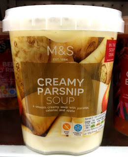 M&S Creamy Parsnip Soup