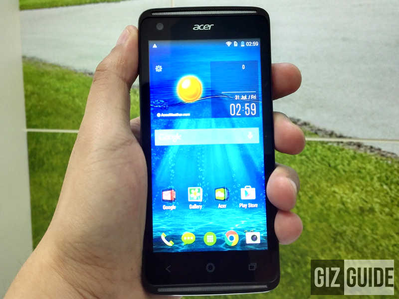 ACER LIQUID Z410 QUICK REVIEW, A BUDGET BEAST WITH LTE UNDER 5000 PESOS!