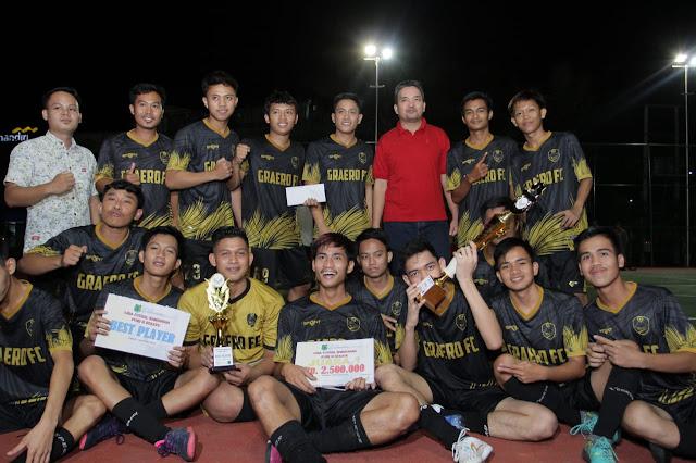 Wabup Muba Tutup Turnamen Futsal