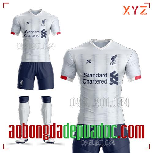 Áo Liverpool 2020 Sân Khách Màu Trắng Đẹp Và Độc