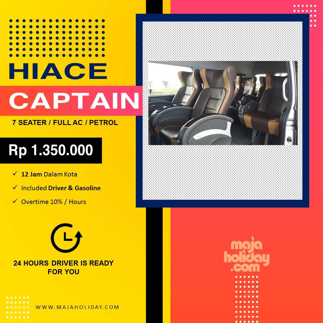 Gambar Sewa Mobil Hiace Captain Seats