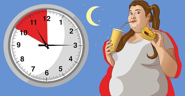 Bad Bedtime Habits Gain Weight