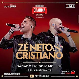 Lives deste Sábado 16/05/2020: Zé Neto & Cristiano e Bruno & Marrone