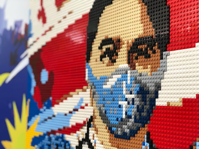 LEGOLAND® Malaysia Resort Exhibits Inspiring LEGO® Murals to Honour Pandemic Heroes