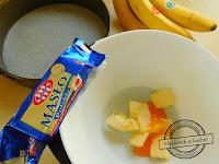 Bananowiec ciasto bez pieczenia masło mlekovita deser niedziela na słodko ciasto galaretka biszkopty