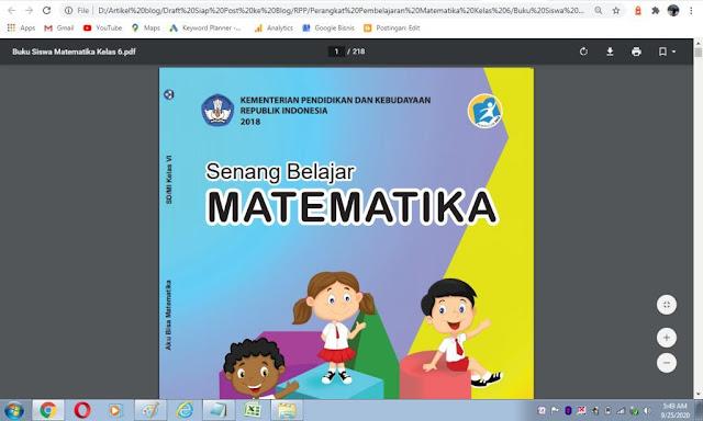 Buku siswa matematika kelas 6 sd kurikulum 2013 pdf